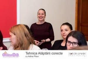 Tehnica alaptarii corecte - LPB Cluj