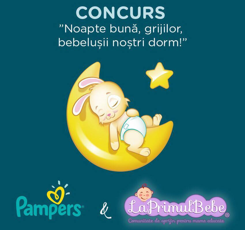 Pampers si LaPrimulBebe