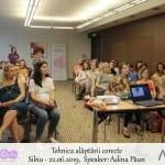 Tehnica alaptarii corecte - Sibiu